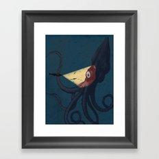 2000 leagues under the sea Framed Art Print