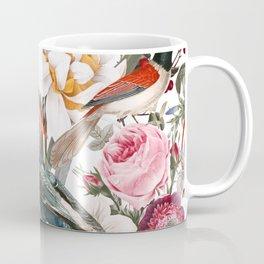 Floral and Birds XXXV Coffee Mug