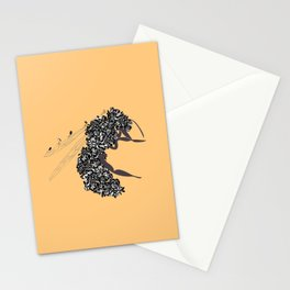 Seeds and the wasp Stationery Cards