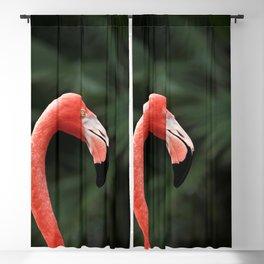 Flamingo #4 Blackout Curtain