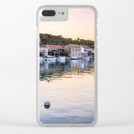 Vela Luka Clear iPhone Case