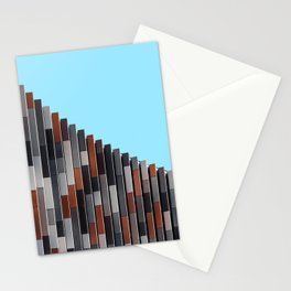 Minimalist office building Stationery Cards