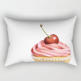 The Perfect Pink Cupcake Rectangular Pillow