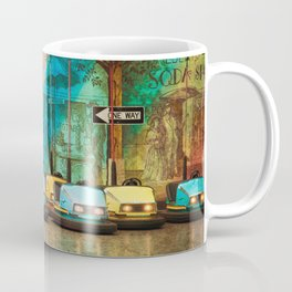 Bumper Cars Coffee Mug