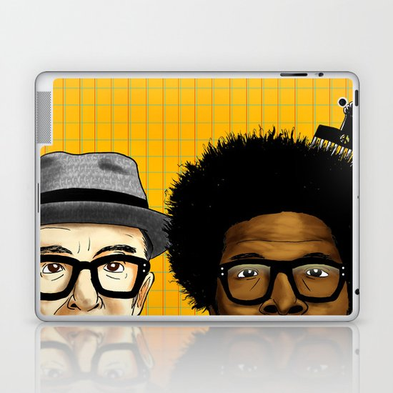 """""""Wise Up Ghost"""" by Dmitri Jackson Laptop & iPad Skin"""