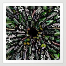 Focus Spring Nature Art Print