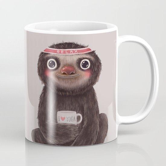 Sloth I♥yoga Mug