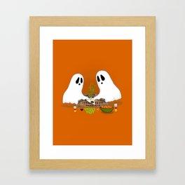 Ghouls Night Framed Art Print