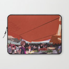 At a market in Taipei Laptop Sleeve