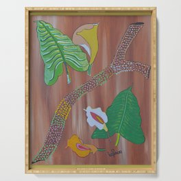 """""""Arum"""" by ICA PAVON Serving Tray"""