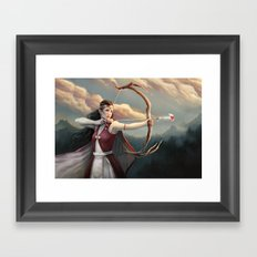 These Human Emotions Framed Art Print
