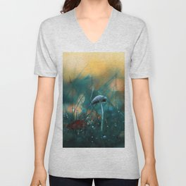 Fire in the Water Unisex V-Neck