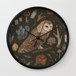 Harvest Owl Wall Clock