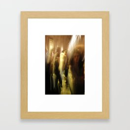dance/swing Framed Art Print