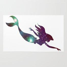 The Little Mermaid Cosmic Rug
