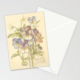 "Charles Rennie Mackintosh ""Flowers & Plants"" (3) Stationery Cards"