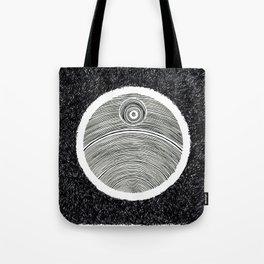 Death Star Scribble Tote Bag