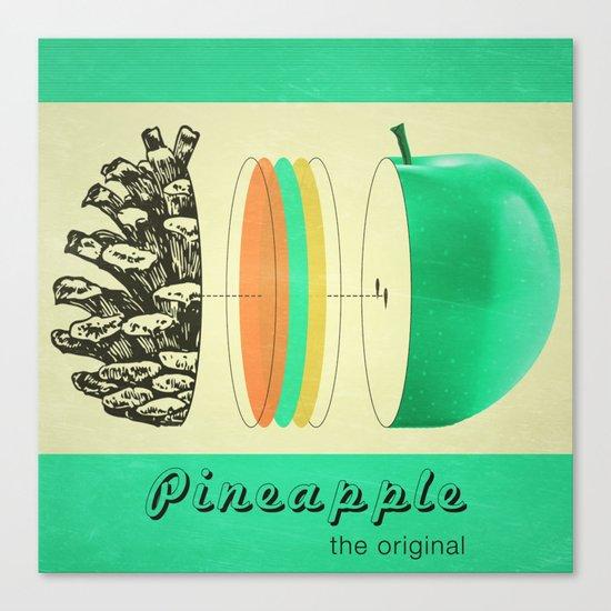pineapple, the original Canvas Print