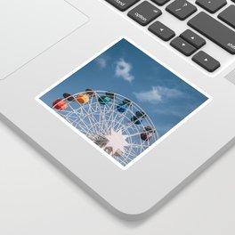 Colourful Ferry Wheel Sticker