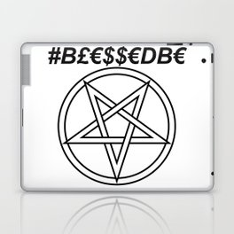 TRULY #BLESSEDBE INVERTED INVERSE Laptop & iPad Skin