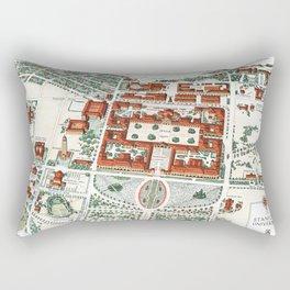 STANFORD CALIFORNIA University map Rectangular Pillow