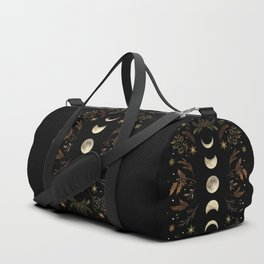 Moonlight Garden - Winter Brown Duffle Bag