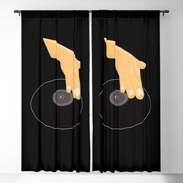 Dj Scratch Blackout Curtain