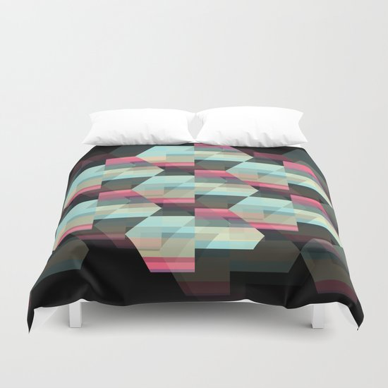 Hexagon Duvet Cover