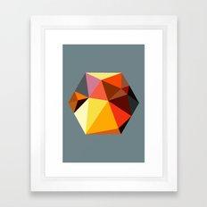 Hex series 2.1 Framed Art Print