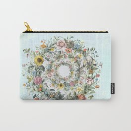 Circle of Life in  Blue Carry-All Pouch