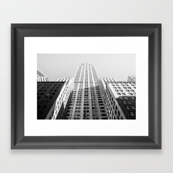 NYC Chrysler Building Framed Art Print