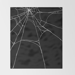 Spiderweb Throw Blanket