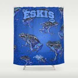 Eskis Froggy Shower Curtain