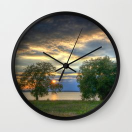 Hurry Sundown Wall Clock