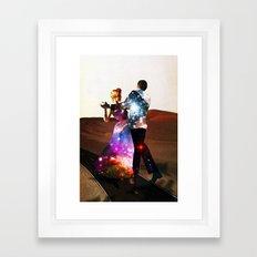 Lucy & DiMiTri Framed Art Print