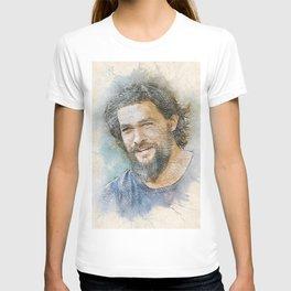 Jason Momoa Portrait T-shirt