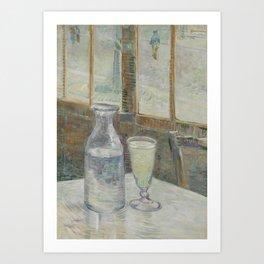 Vincent van Gogh - Café table with absinth (1887) Art Print