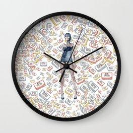 London Club Scene | Punk Rock Girl  Wall Clock