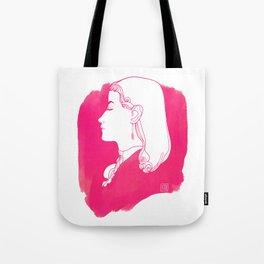 Pink Victorian Tote Bag