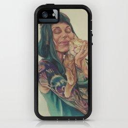 Meli and Figaro iPhone Case