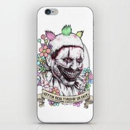 xoxo Twisty (color) iPhone Skin