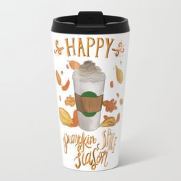Happy Pumpkin Spice Season Travel Mug
