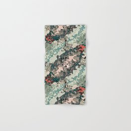 Colorful Textures Pattern 1 Hand & Bath Towel
