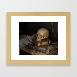The Beginning and End Framed Art Print
