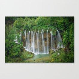 Angel Hair in Croatia Canvas Print