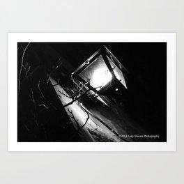 Under The Lantern Light Art Print