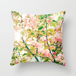 Spring Blossoms (1) Throw Pillow
