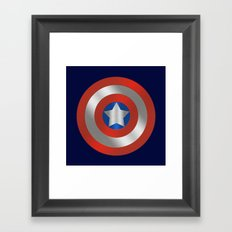 Stars and Stripes Framed Art Print