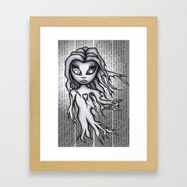 Ghost Zero Framed Art Print