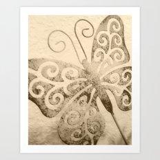 Butterfly Dream Art Print